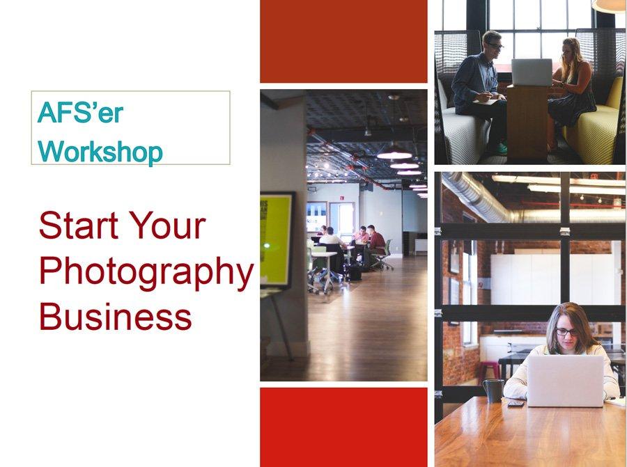 start photo business workshop